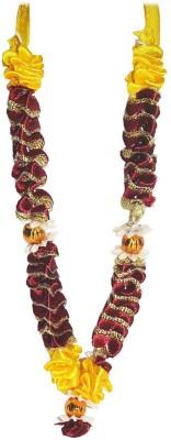 REAL SEED High Quality Handmade Attractive Diwali Mala Garland(Maroon, Multicolor)