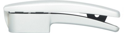 Hoffner Double blade Garlic press with cleaner Garlic Press(Silver)