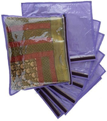 Indi Bargain Non-Woven Single Transparent Saree Cover