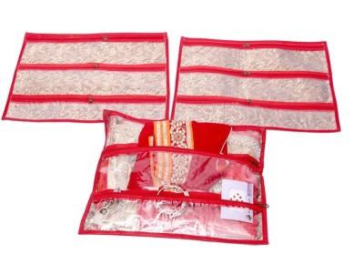Kuber Industries Multi Purpose Kit, Saree Cover, Utility Bag, Blouse Cover (Set of 3 Pcs)