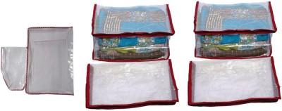 Fashion Bizz Premium Net 5 Saree Cover and 1 Blowse Cover Combo SC-6