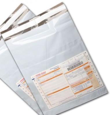 Alpine Plastics Plastic 100 Pc 8 X 10 Inch Proof Tamper Evident Security - With Pod Jacket Temp810