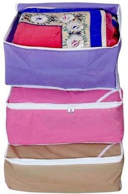 Fashion Bizz Regular Multi-Saree Cover 3-IN-1 COMBO