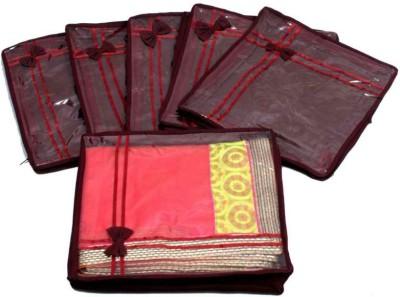 Kuber Industries Designer Saree Cover Non Wooven Material 6 Pcs Set MKUSC145