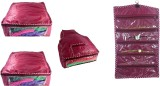 Addyz Plain Combo Of 2 Saree Covers And ...