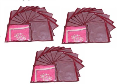 Addyz Plain Pack Of 36 Saree Cover Keep 1 each