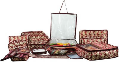 Bahurani Boutique 13 In 1 Saree Jewellery Organiser Kit cover