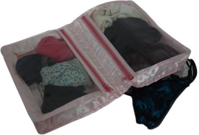 Kuber Industries Designer Quilted Satin Lingerie Cover MKUSC165