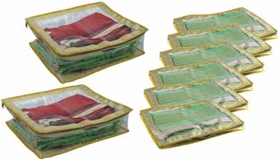 Bahurani Boutique Designer Combo of 6 inch Saree Cover 2 pcs, 2 inch Saree Cover 6 pcs
