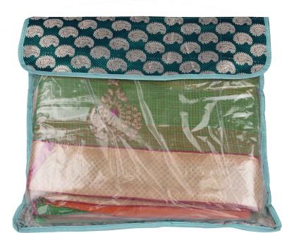 Mridang Designer Colorful Saree Cover JM0_5300