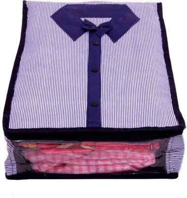 Kuber Industries Designer Shirt Cover in Quilted Cotton Material MKUSC128