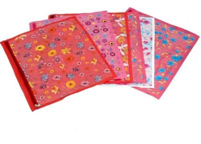 Fashion Bizz Printed Saree Cover-6 Pcs Combo SC-P6