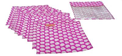 Ruhi's Creations Designer Brocade Saree Cover - Pink 7004