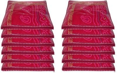 Addyz Plain 12 Pc Saree Sari Covers Salwar Kamiz Suit Maroon Shirt Jeans Case Multipurpose Bag