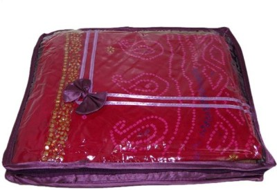 Addyz Plain Pack Of 6 - Upto 2 Pcs Heavy saree case