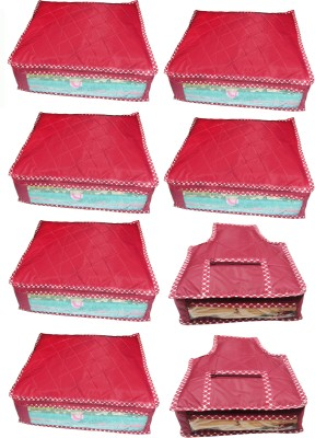 Atorakushon Parachute Combo of 6PC Saree Cover 2PC Blouse Cover P6S&3b