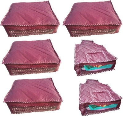 Lnc designer 2 sarees and 1 blouse cover 4+2cvr