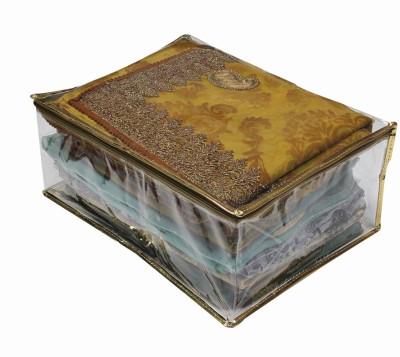 Mpkart SM01a Gold spacious saree cover SMo1a