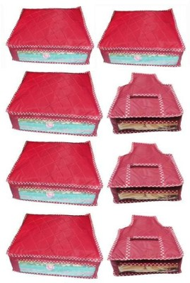 Ombags&More Saree And Blouse Cover Set Of 8 flipon02