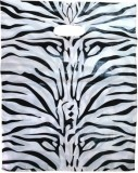 Manbhari 40 Zebra Print D Cut Bag (13X18...