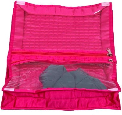 Kuber Industries Designer Quilted Satin Lingerie Cover MKUSC132
