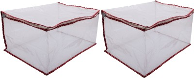 Angel Quilts NET ANGQUI-50 SET OF 2 SAREE COVER NET TRANSPARENT ANGELQUILTS50