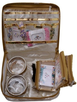 Mun Shree Designer Golden Net Makeup Kit MS-25