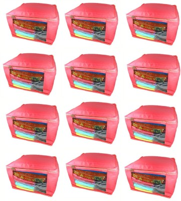 Abhinidi Non-Woven Multipurpose Saree Cover 15PC Capacity10-15 Units Each