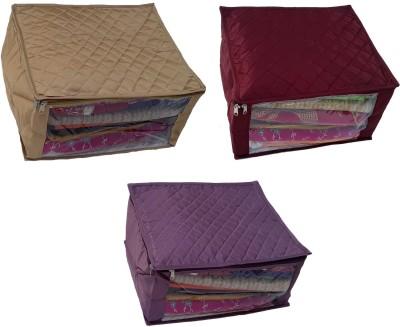 Indi Bargain Set of 3 Saree Cover Three Layered Wedding