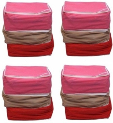 Fashion Bizz Multi Saree Cover 12 Pcs Combo