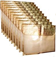 A J Creations Designer Flip G-F-0330(Golden)