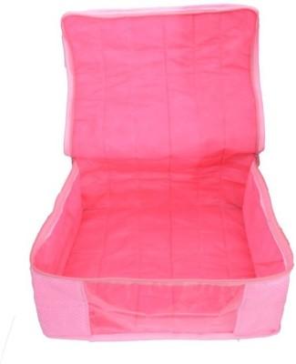 Mun Shree Designer Pink Doth 5 Saree Cover Box MS-06