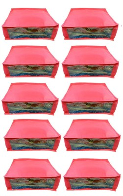 Abhinidi Non-Woven Multipurpose Saree Cover 10PC Capacity5-6 Units Each
