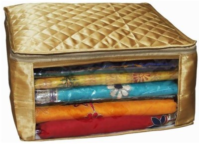 Ombags&More Handmade saree cover golden01