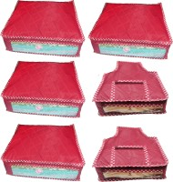 Atorakushon Parachute Combo of 4PC Saree Cover 2PC Blouse Cover P4S&2b(Maroon) best price on Flipkart @ Rs. 749