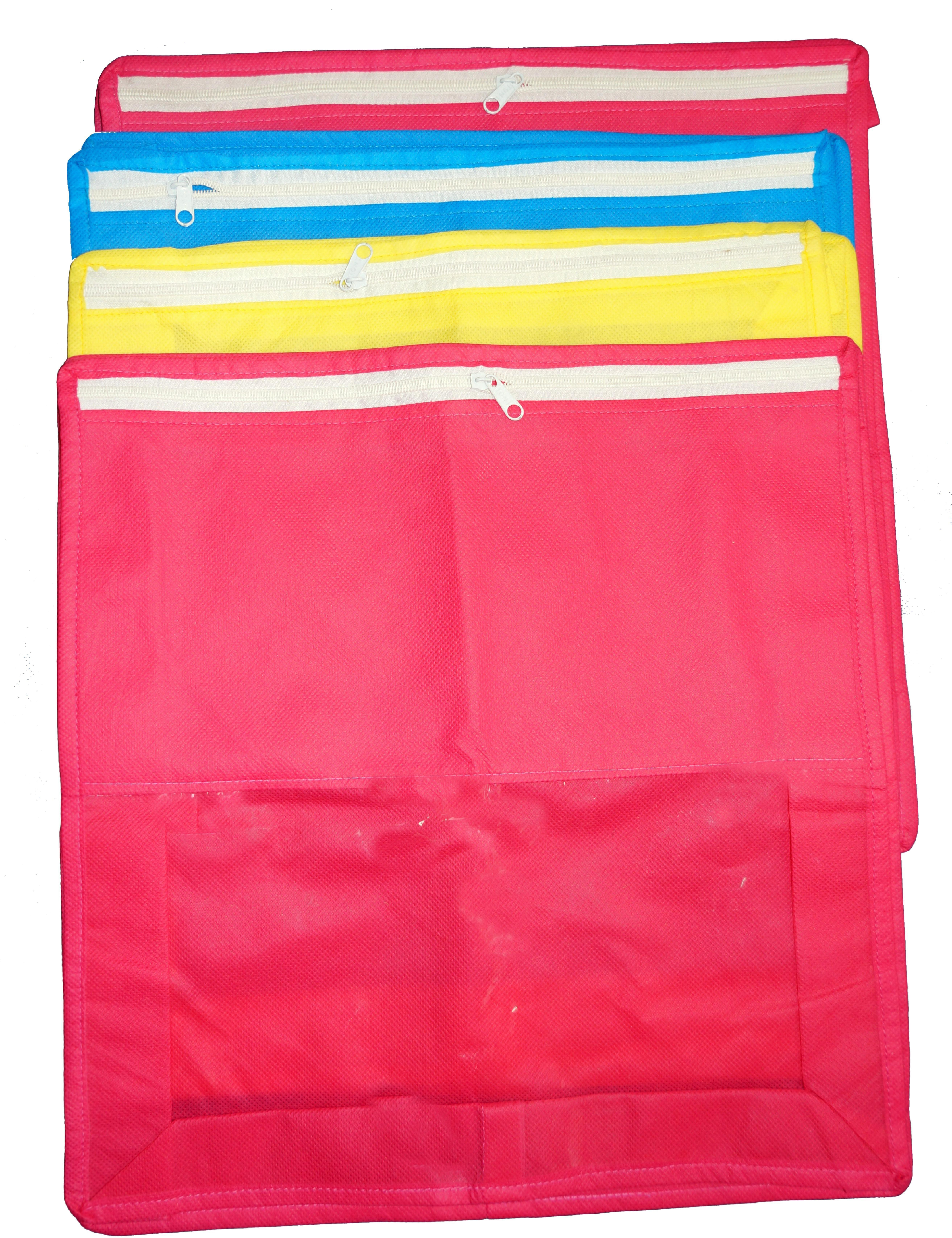 de10ada287f3 Greatech Designer Greatech Saree Cover Combo4(Pink