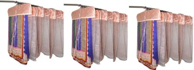 Addyz Plain Pack Of 36 Net Saree Cover Wardrobe Organize
