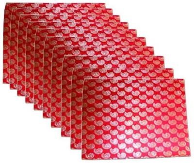 Ruhi's Creations Designer Brocade Saree Cover - Red 1013