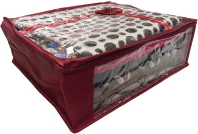 Addyz Plain Saree Cover Storage Non-Woven