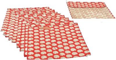 Ruhi's Creations Designer Brocade Saree Cover - Red 7003