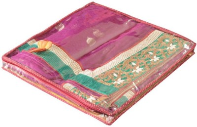Srajanaa Designer saree cover set for two sr119(Maroon)