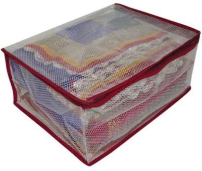 A-Maze Saree Covers Transparent Multi - Upto 15 Pcs