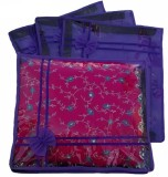 Ombags & More Handmade Set Of 4 Transpar...