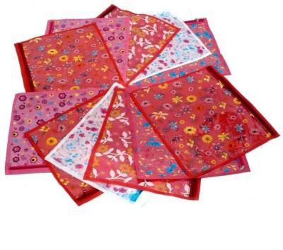 Fashion Bizz Printed Saree Cover -12 Pcs Combo SC-PM12