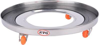 KVG Gas Cylinder Trolley(Silver)