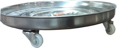 Abee Metal Made Durable Gas Cylinder Trolley(Multicolor)