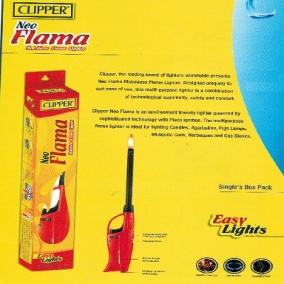 CLIPPER Plastic Gas Lighter