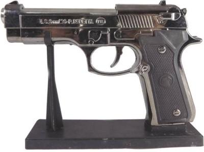 M.D.S. ENTERPRISE 9 MM GUN SHAPED CIGARETTE LIGHTER Carbon Steel Gas Lighter(Steel, Pack of 1) at flipkart