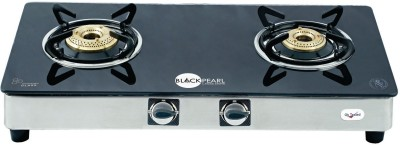 Black Pearl Plasma 2 Burner Gas Cooktop