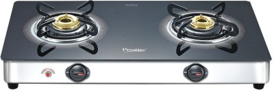 Prestige GT 02 SS 2 Burner Gas Cooktop